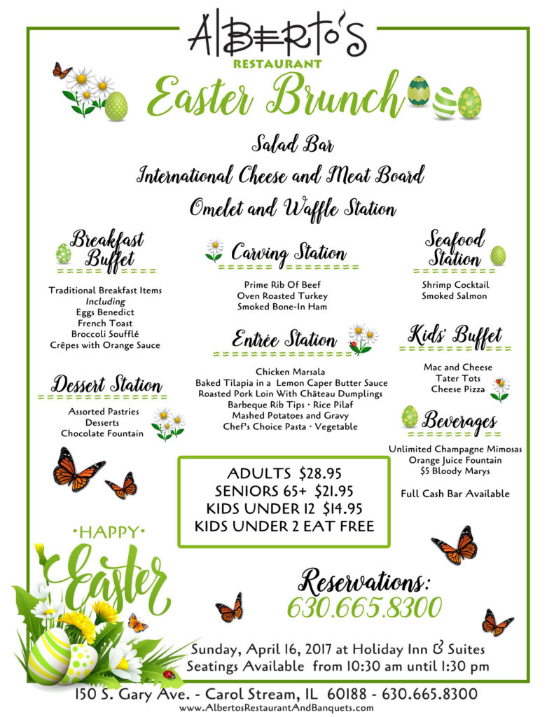 Outstanding Join Us For Easter Brunch At Albertos Restaurant At Holiday Download Free Architecture Designs Scobabritishbridgeorg